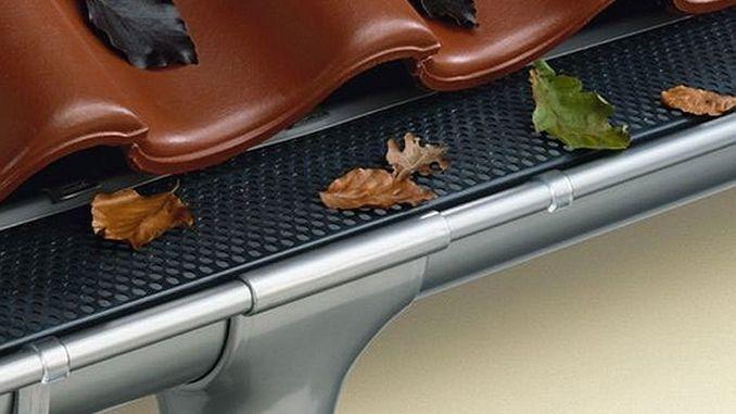 Dachrinnen-Gitter flach | Bild: Marley