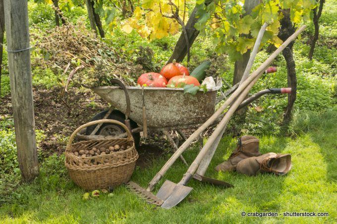 Gartengeräte ohne Aufsicht