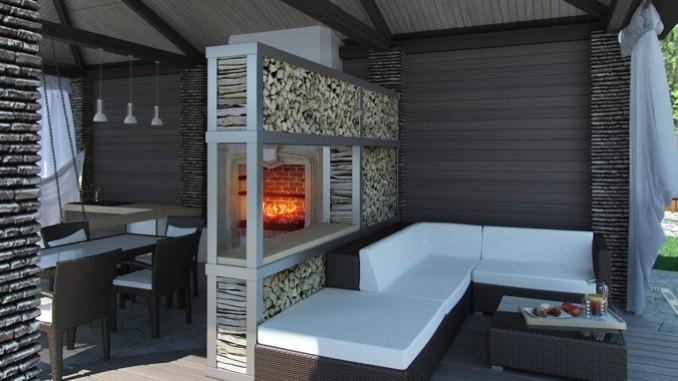 Gartenhaus einrichten so wird es gem tlich oder praktisch for Gartenhaus modern einrichten