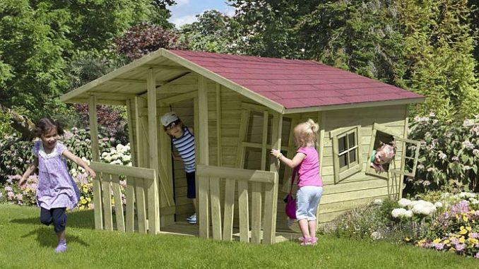 Kindergartenhaus Spielhaus von ediGarden