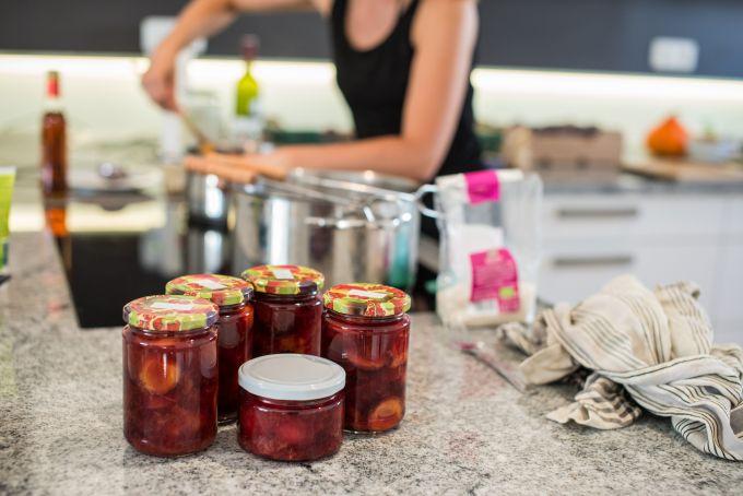 Marmelade herstellen