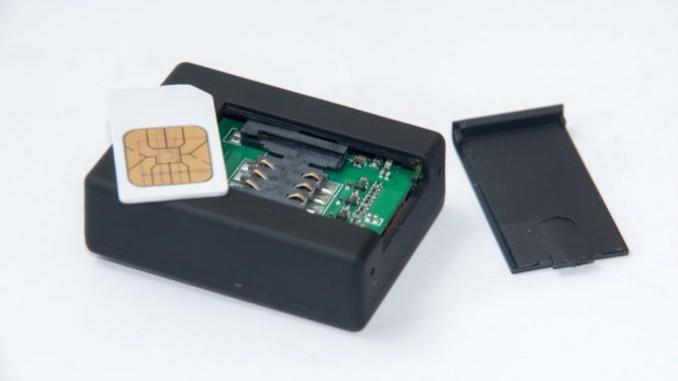 Sim-Karten-Slot für Alarmanlage