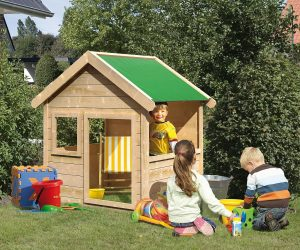 Spielhaus Tommy aus Fichtenholz | Bild: Karibu