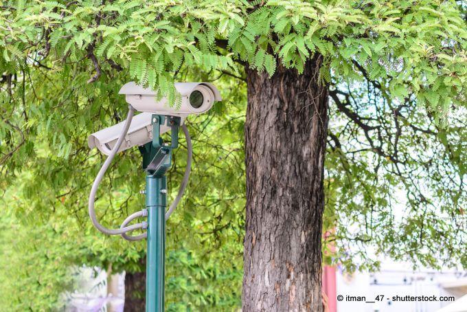 Videoüberwachung im Garten
