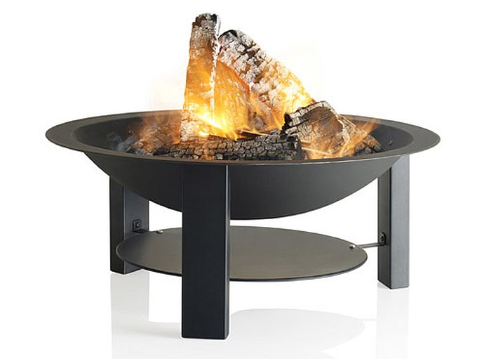 Feuerschale aus Gusseisen und Stahl| Bild: Barbecook