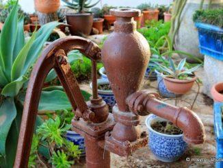 Garten Wasserpumpe