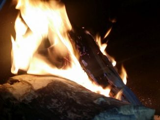 Feuer im Kaminofen