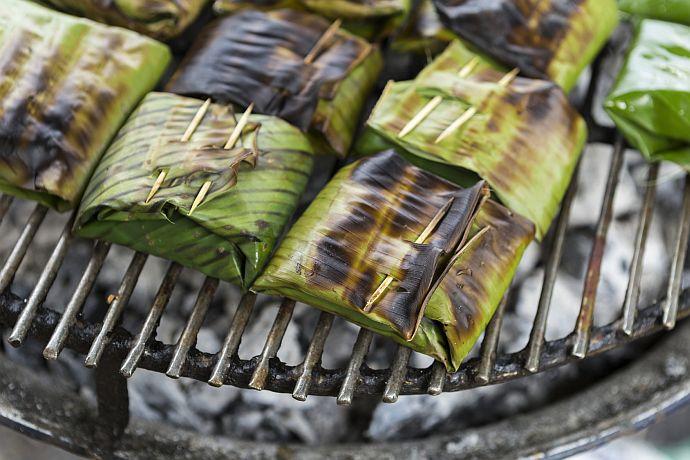 Bananenblätter als Alternative für Alufolie und Grillpapier