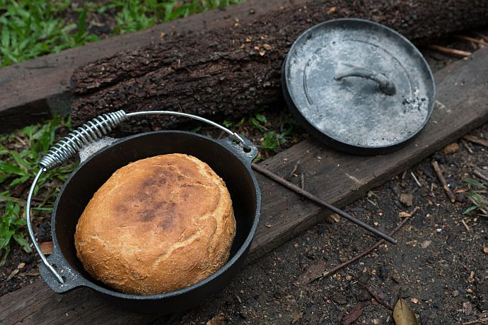 Damperbrot aus dem Dutch Oven