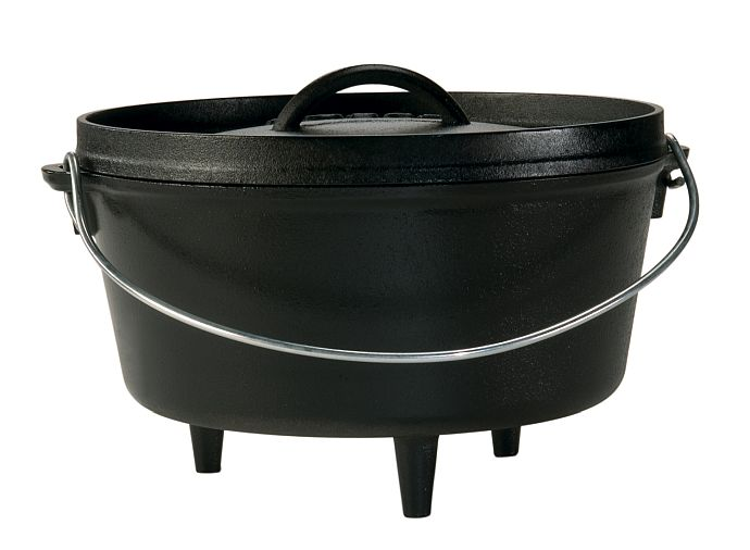 Lodge Logic Dutch Oven mit drei Beinen
