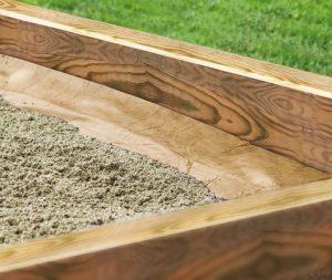 Sandkasten-Vlies von Windhager | Bild: Windhager