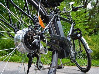 Hinterradmotor an einem Pedelec