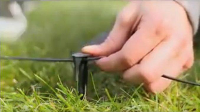 Videoausschnitt Kabelverlegung für Robolinho 100 | Bild: AL-KO