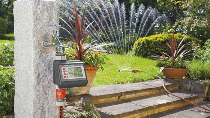 Bewässerungscomputer | Bild: Gardena