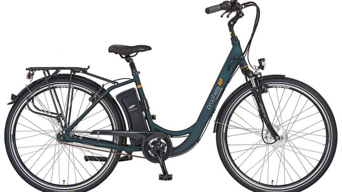 E-Bike Alu-City-Rad Navigator-75-28 mit Vorderradantrieb | Bild: Prophete
