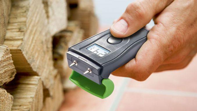 Messgerät Holzfeuchte Dry | Bild: Burg Wächter