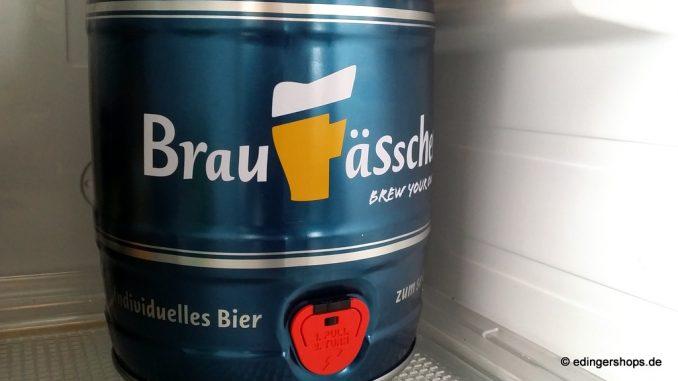 Bierfass im Kühlschrank