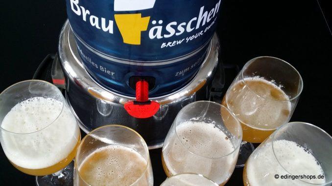 Braufässchen Bierverkostung