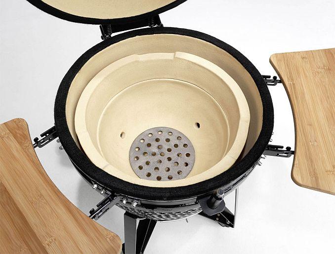 kamado grillen r uchern smoken im keramikgrill. Black Bedroom Furniture Sets. Home Design Ideas