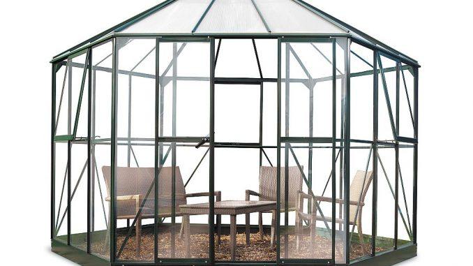 Gewächshaus Atrium als Glaspavillon | Bild: Juliana