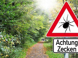 Warnschild Zecken | Bild: stockWERK fotolia.com