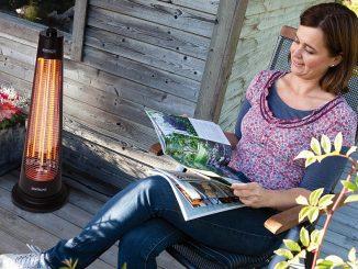 Infrarotstrahler für Terrassen und Gartenhaus | Bild: Lienbacher