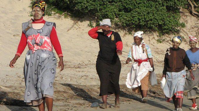 Alltagskleidung in Südafrika
