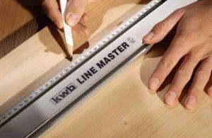 messen und markieren mit Lineal und Bleistift | Bild: kwb