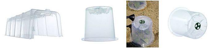 Hauben oder Tunnel schützen die Pflanzen zusätzlich vor Kälte oder Schädlingen | Bilder: Garantia