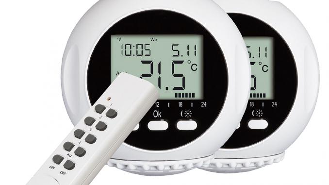 Funkthermostat mit Fernbedienung | Bild: Smartwares