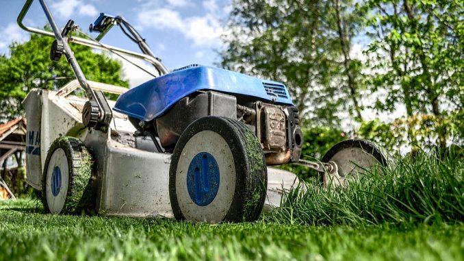 Rasenmäher bei der Arbeit | Bild: Skitterphoto