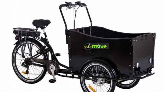 E-Lastenfahrrad 26 Zoll für den Kindertransport | Bild: ediMove