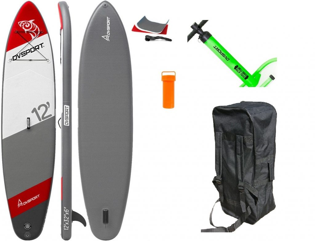 Stand-Up-Paddle-Set 12 von DVSport, Tragkraft: 170 kg