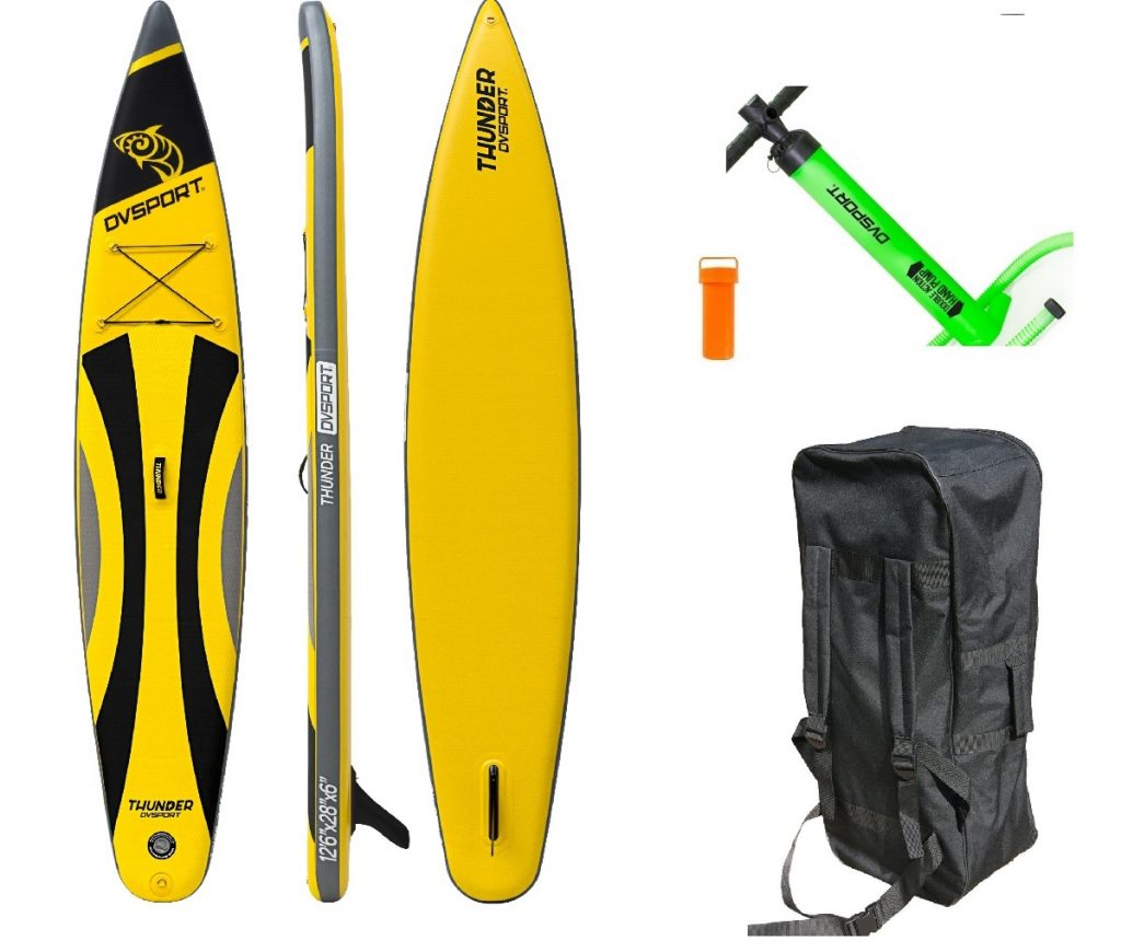Stand-Up-Paddle-Set Thunder von DVSport, Tragkraft: 170 kg