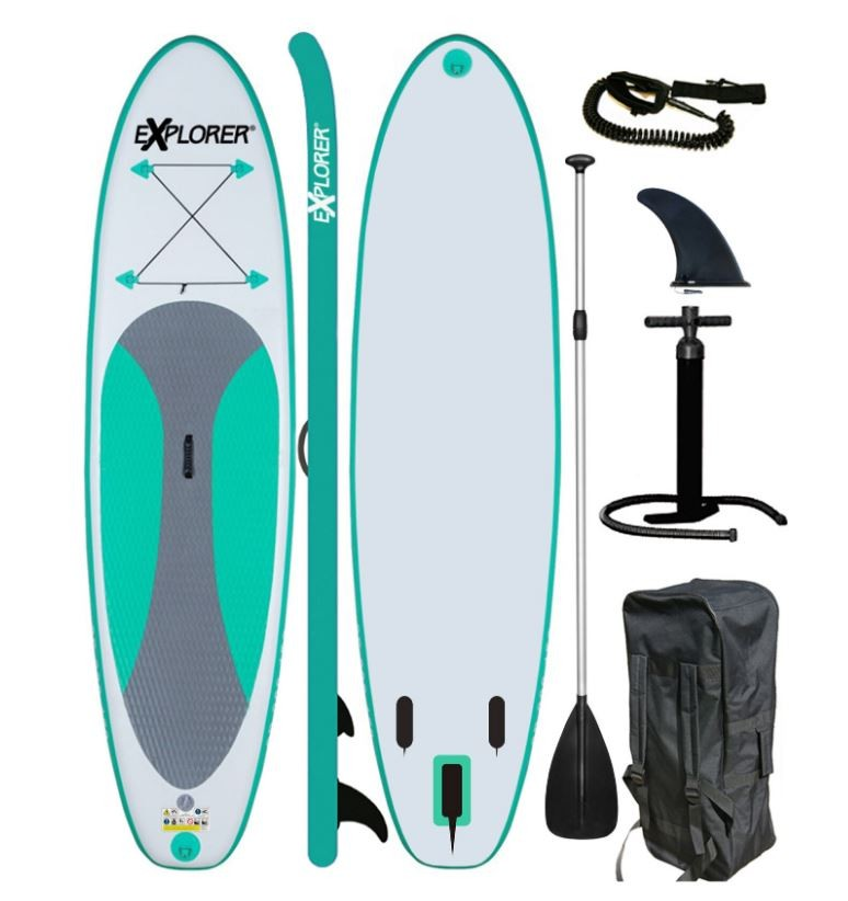 Stand-Up-Paddling-Set von Explorer, Tragkraft: max. 115 kg